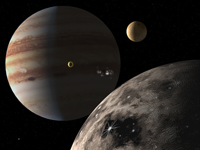 Mercury Moons - Pics about space