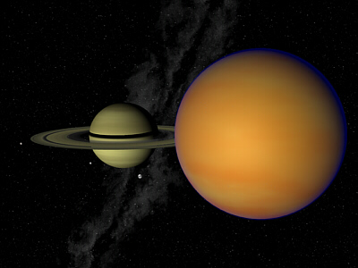 View Of Moons Orbiting Saturn Pics About Space
